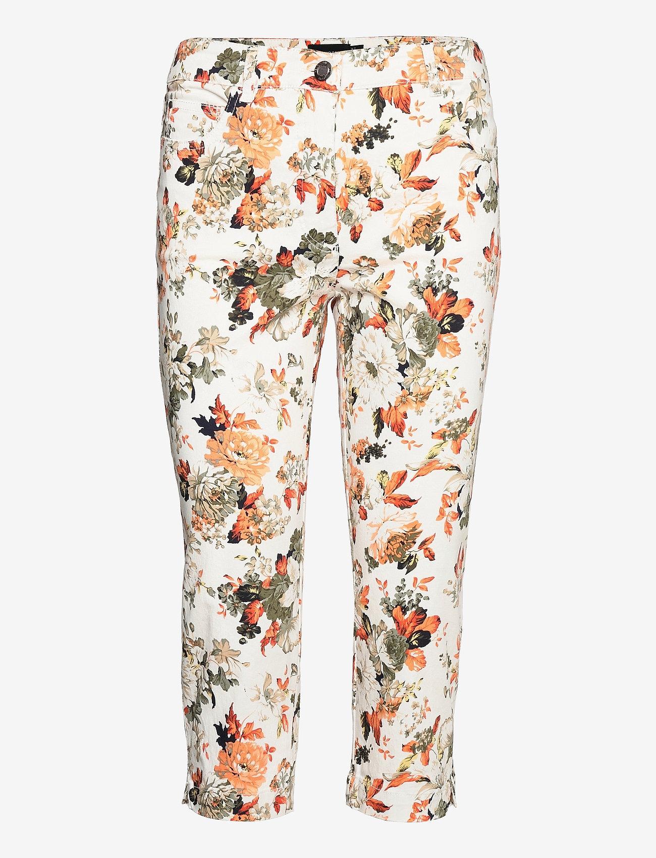 Brandtex - Capri pants - pantalons capri - deep lichen green - 1