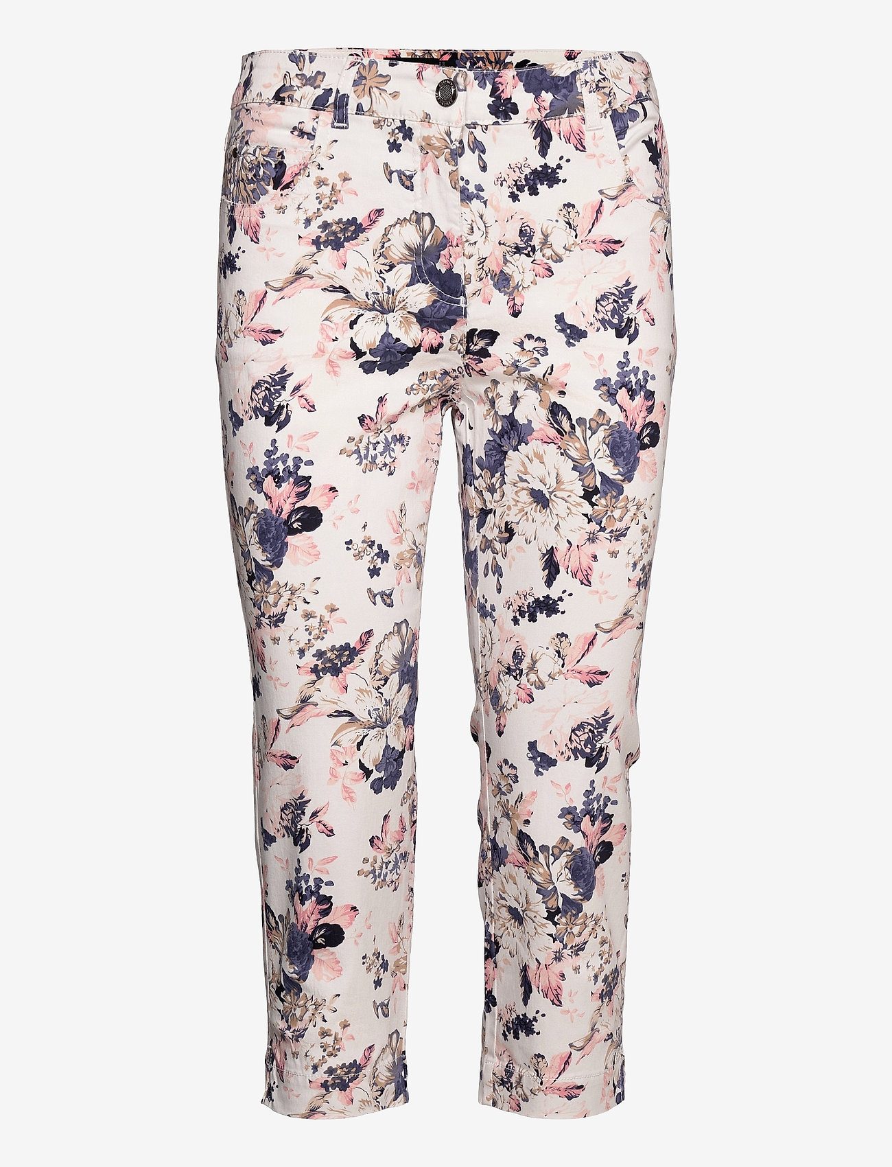Brandtex - Capri pants - pantalons capri - pale blush - 1