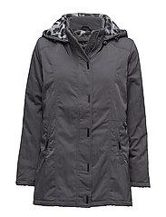 Coat Outerwear Heavy - DARK GREY