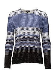 Pullover-knit Heavy - HORIZON BLUE