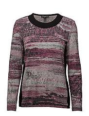 T-shirt l/s - DRIED ROSE