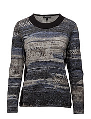 T-shirt l/s - HORIZON BLUE