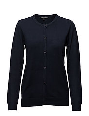 Cardigan-knit Heavy - MIDNIGHT BLUE