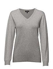 Pullover-knit Heavy - GREY MELANGE