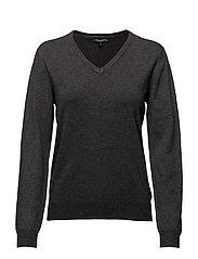 Pullover-knit Heavy - GREY MELL.