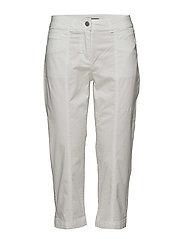 Capri pants - WHITE