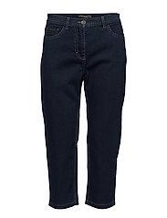 Capri pants-denim - DENIM BLUE