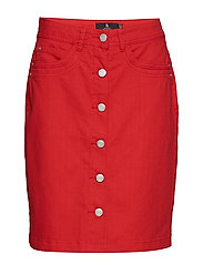 Casual skirt - SCARLET