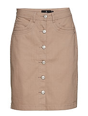 Casual skirt - STONE
