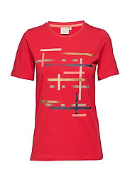 T-shirt s/s - FIESTA RED