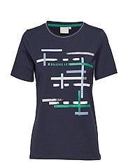 T-shirt s/s - MIDNIGHT BLUE