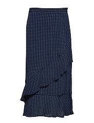 Skirt-light woven - MIDNIGHT BLUE