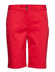 Casual shorts - FIESTA RED