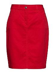 Casual skirt - FIESTA RED