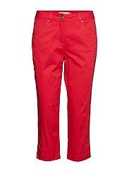 Capri pants - FIESTA RED