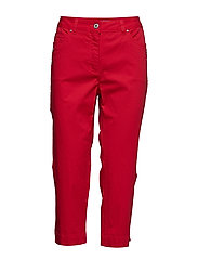 Capri pants - FIESTA RED