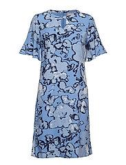 Dress-light woven - RIVIERA BLUE