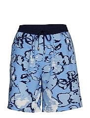 Casual shorts - RIVIERA BLUE