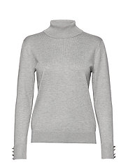 Pullover-knit Light - LIGHT GREY MELANGE