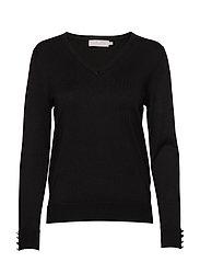 Pullover-knit Light - BLACK