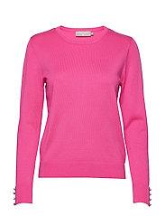 Pullover-knit Light - FUCHSIA ROSE