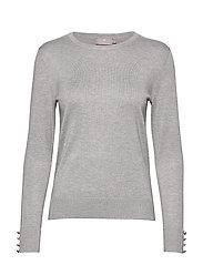 Pullover-knit Light - LIGHT GREY MELANGE
