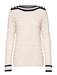 Pullover-knit Heavy - SAND MELL