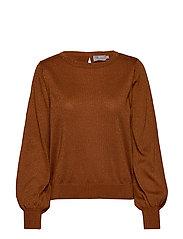 Pullover-knit Light - GINGER BREAD
