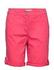 Casual shorts - ROUGE RED