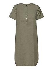 Casual dress - DEEP LICHEN GREEN