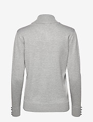 Brandtex - Pullover-knit Light - turtlenecks - light grey melange - 1