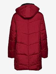 Brandtex - Coat Outerwear Heavy - dynefrakke - red - 2