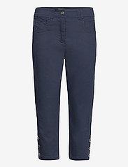 Brandtex - Capri pants - pantalons capri - midnight blue - 1