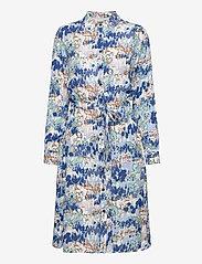 Brandtex - Dress - skjortekjoler - midnight blue - 1
