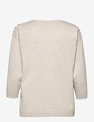 Brandtex - Pullover-knit Light - trøjer - desert melange - 1