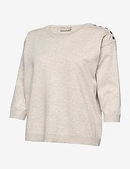 Brandtex - Pullover-knit Light - trøjer - desert melange - 2