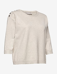 Brandtex - Pullover-knit Light - trøjer - desert melange - 3