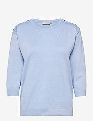 Pullover-knit Light - SERENITY BLUE