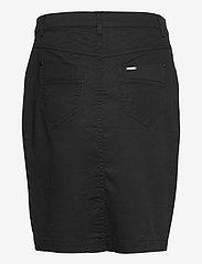 Brandtex - Casual skirt - midinederdele - black - 2