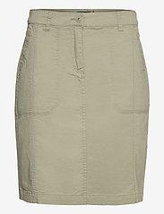 Casual skirt - DEEP LICHEN GREEN