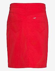 Brandtex - Casual skirt - midinederdele - racing red - 2