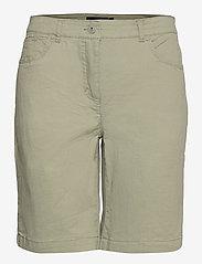 Casual shorts - DEEP LICHEN GREEN