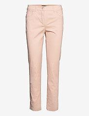 Brandtex - Casual pants - slim fit bukser - pale blush - 1