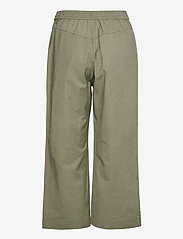 Brandtex - Capri pants - bukser med brede ben - deep lichen green - 2