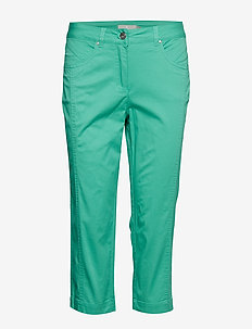 Capri pants - chinos - grass