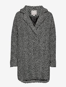 Coat Outerwear Heavy - BLACK