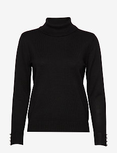 Pullover-knit Light - BLACK