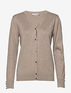 Cardigan-knit Light - CAMEL MELANGE