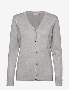 Cardigan-knit Light - LIGHT GREY MELANGE