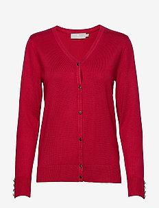 Cardigan-knit Light - RED